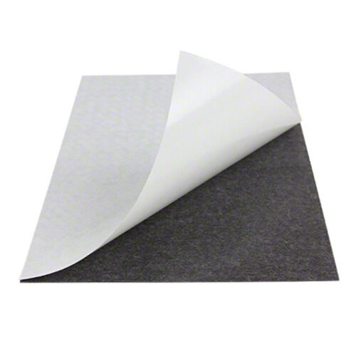 100 pcs of VERY THIN 12 mil Adhesive Magnetic Business Card Magnets USA MADE