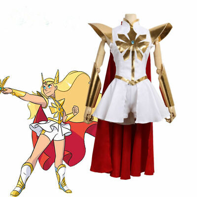 She-ra Princess Of Power Costume (Free Shipping Cosplay Costume She-Ra: Princess of Power Dress Uniform )