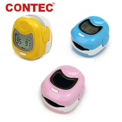 Kidspediatric Pulse Oximeter Finger Spo2 Heart Rate Meter Blood Oxygen Monitor