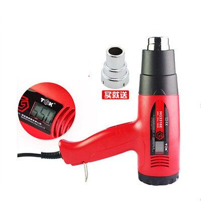 2000 Watt Dual Temperature Digital Heat Gun 400550 Hot Air Gun Hg3320e