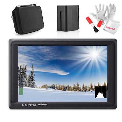 "FEELWORLD FW279S 7"" 4K HDMI 3G-SDI Daylight 1920x1200 On-Camera Field Monitor"