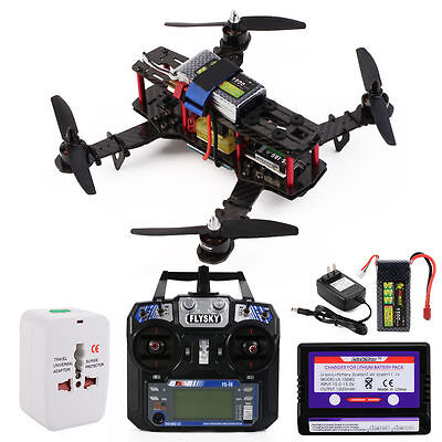 OCDAY QAV250 RTF FPV Carbon Fiber Racing Quadcopter+Controller+Battery RC180