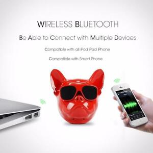 The Premium Limited edition  Bulldog Bluetooth  Speaker  Perfect for you ,Order NOW!!