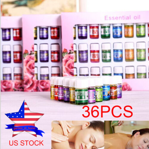 Essential Oils 100% Pure Natural Aromatherapy Therapeutic Oi