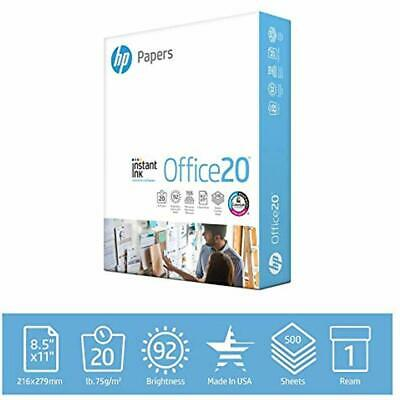 Hp Printer Paper Copyprint 20lb 8.5 X 11 1 Ream 500 Total Sheets Made In Us