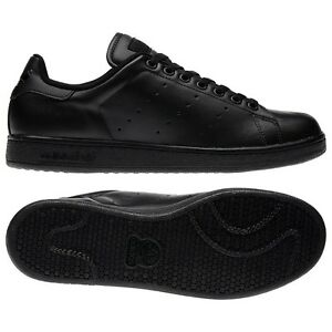 ADIDAS-MENS-STAN-SMITH-2-BLACK-SIZE-7-8-9-10-11-G17076-BACK-TO-SCHOOL-TRAINERS