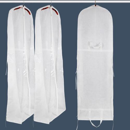 Lange Zip Brautkleider Kleidersack Hochzeits Ballkleid Schutzhülle Reisetasche