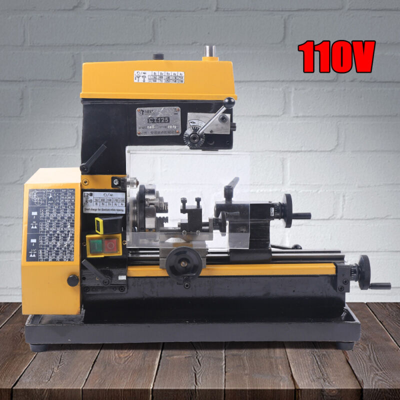 Micro Lathe 3-in-1 Multi-function Machine Drilling and Milling Lathe machine