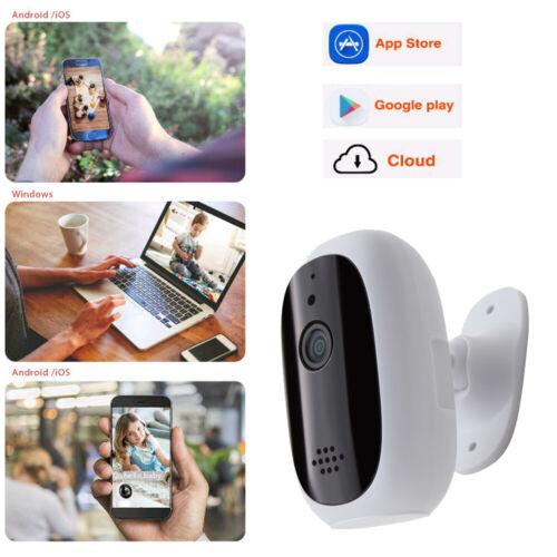 Wireless IP WIFI Smart Camera 720P Two-Way Audio Monitor Net
