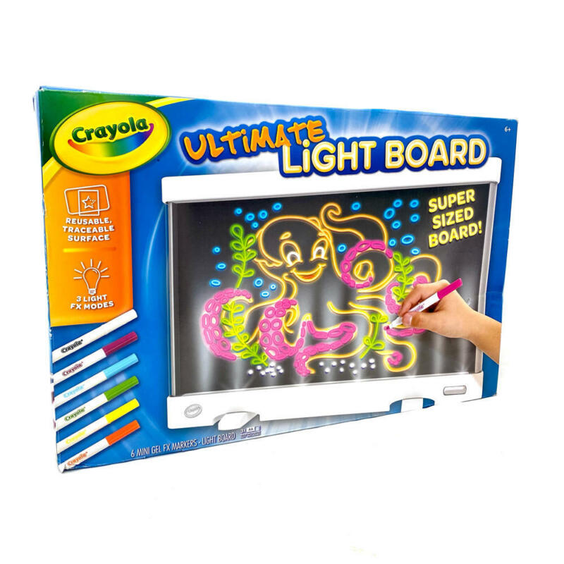 Crayola Ultimate Light Board Drawing Tablet Open Box
