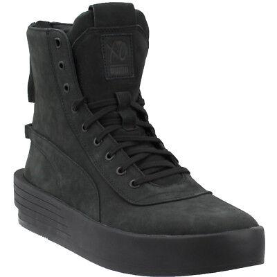 Puma XO The Weeknd Parallel Sneakers- Black- - Puma Black Sneakers