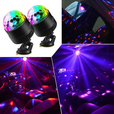 Party Disco Lights Strobe Led Dj KTV Decoration Activated Dance Bulb Lamp Ball (Decorative Disco Balls)