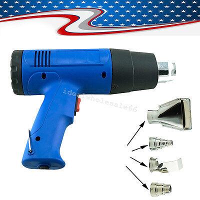 Heat Gun Hot Air Gun Dual Temperature 4 Nozzles Power Tool Heater Gun 300500