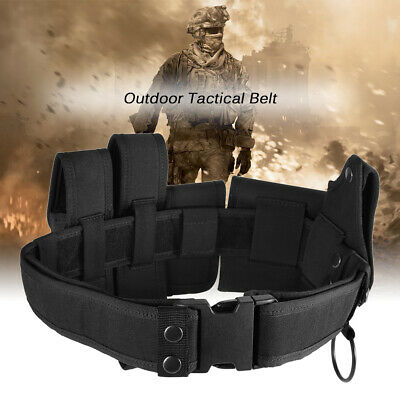 Lixada Outdoor Tactical Belt Law Enforcement Modular Equipment S9i7