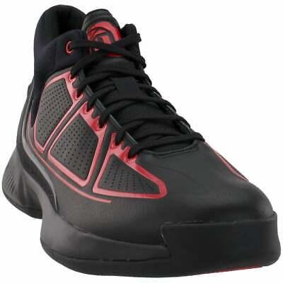 adidas D Rose 10  Casual Basketball  Shoes - Black - Mens