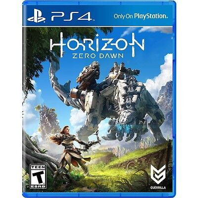 Horizon  Zero Dawn  Pre Owned Mint  Play Station 4  No Tax  Low Price  Fast Ship