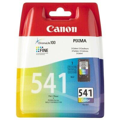 Ml Gelb Tintenpatrone (Neu Canon CL-541 color C Y M Tintenpatrone Original Druckkopf 5227B005 8 ml)