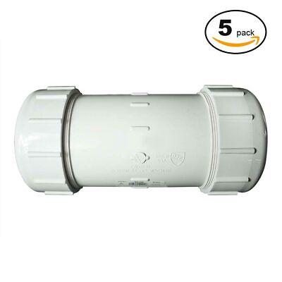 PrimeX 85327 2 1/2 PVC Comp. Coupling - 5/Pack