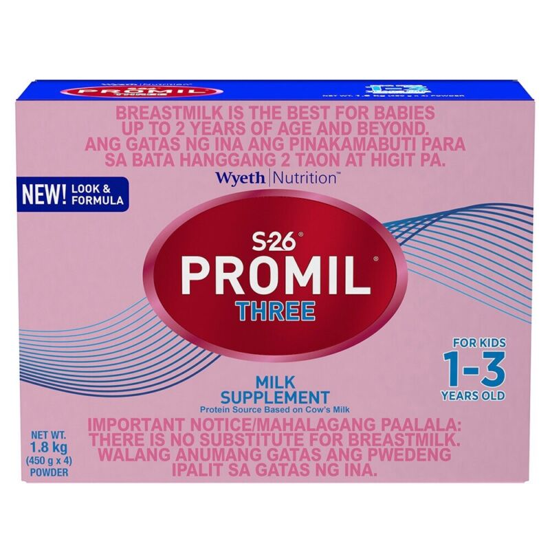 Promil Milk For Age 1-3 S26 Free Shipping to USA