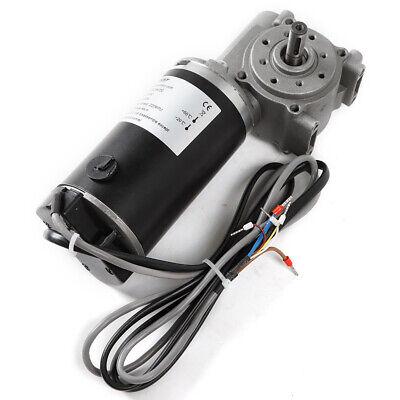 Dc 24v 100w High Torque Worm Gear Motor Intelligent Encoder Electric Door Motor