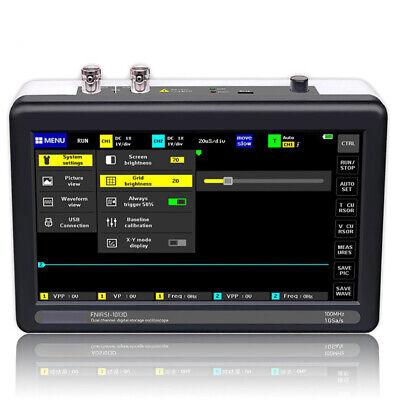 Newest 7-inch Digital Tablet Oscilloscope 2ch 100mhz Bandwidth 1gs Sampling Rate
