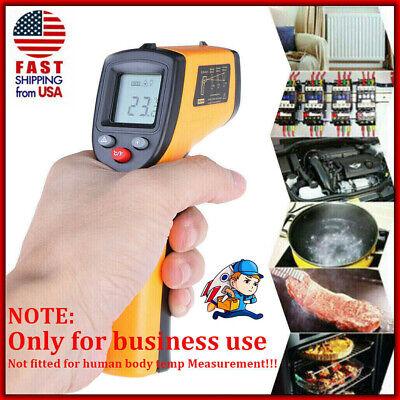 Ir Laser Thermometer Non-contact Lcd Digital Infrared Temperature Gun Pyrometer