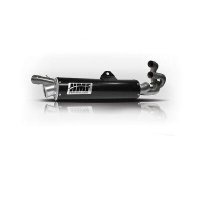 HMF Yamaha Grizzly 660 2002 - 2008 Black Full Exhaust Muffler