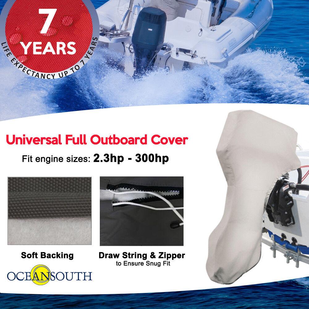 Motorabdeckung OCEANSOUTH Mercury Marine Schutzhülle Abdeckung NEU Aussenborder
