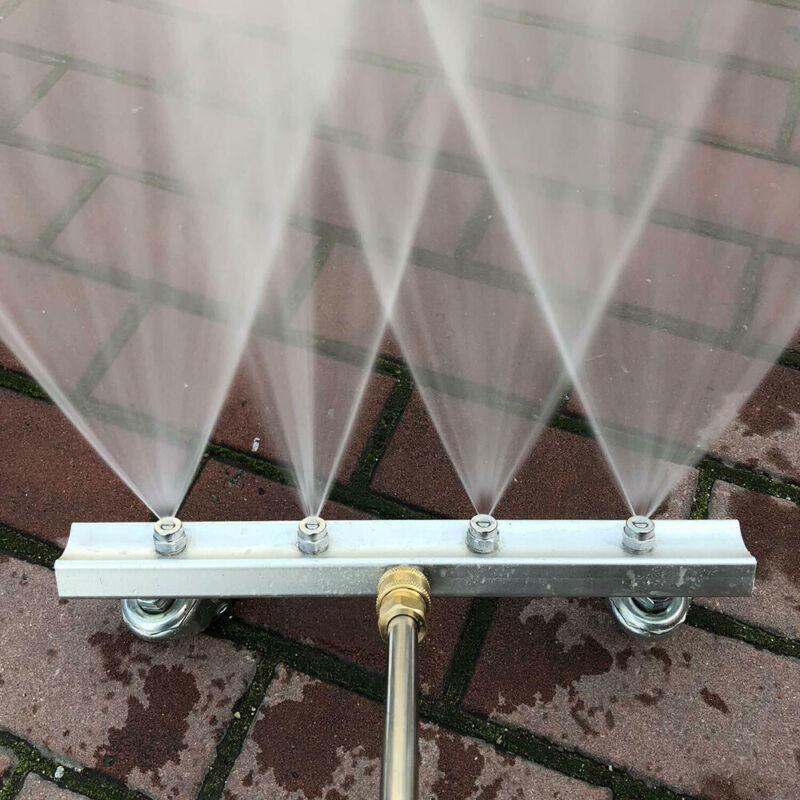 Water Broom Surface Cleaner Pressure Washer Power Sweep Driveway Sidewalk Deck