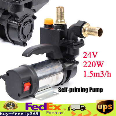220w Jet Water Pump 24v Shallow Well W Single Stage 1.5m3h Self Priming New
