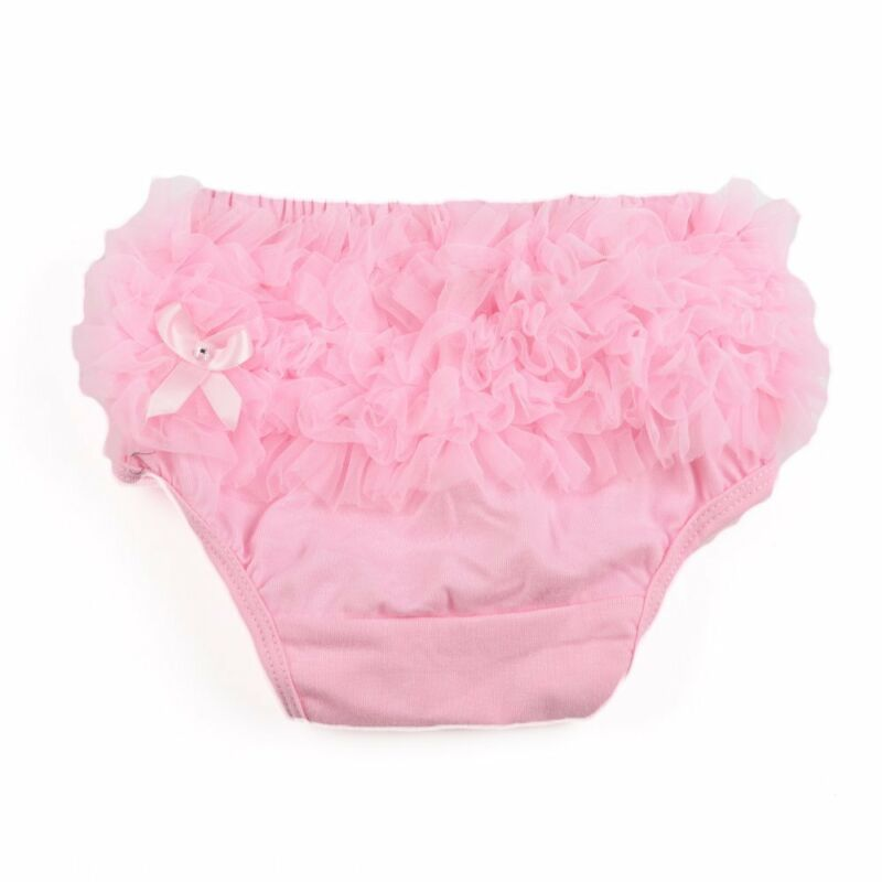 Baby Infant Girl Ruffled Panties Nappy Briefs Diaper Cover Pants 3-24 Months N3
