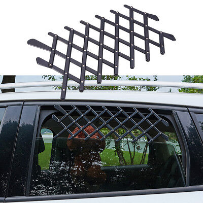 Pet Car Truck Window Gate Safety Fence Dogs Travel Gate Black Retractable Fence