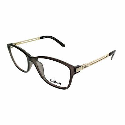 Chloe CE 2669 065 Smoke Plastic Rectangle Eyeglasses (Plastic Spectacles)