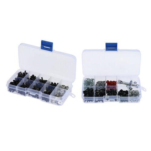 Car Parts - 180 in 1 & 270 in 1 Repair Screw Kits Upgrade Parts for 1:10 HSP RC Car Tool