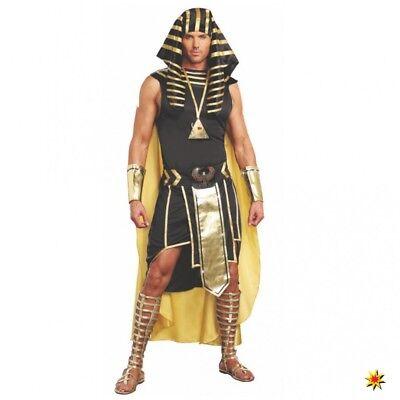 Kostüm Pharao Unas Gr. M- XL König Ägyptens Verkleidung Karneval - König Pharao Kostüm