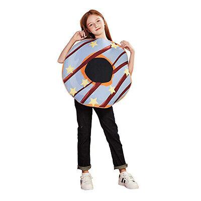 Kids Donut Halloween Costume (Kids Sweet Donut Halloween Costume Doughnut Funny Food Party Fancy Dress)