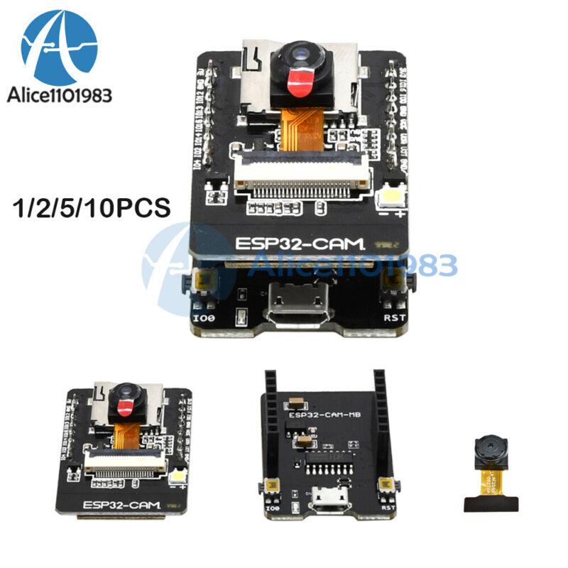 1-10pcs Esp32-cam-mb 5v Wifi Bluetooth Development Board Ch340g Ov2640 Camera