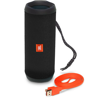 JBL Flip 4 Wireless Portable Stereo Bluetooth Speaker with Micro-USB Cable