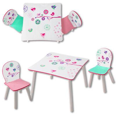 Sitzgruppe Kinder Kindersitzgruppe Kinderstühle Kindertisch Möbel Mädchen rosa