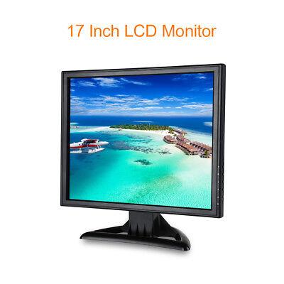 "17"" 1280x1024 Resolution LCD Monitor With BNC VGA AV HD Video Input 5ms 300cd/m2"
