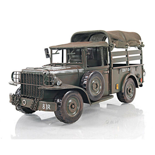 "Dodge M37 Military Command Truck Metal Model 13"" US Army 1950"