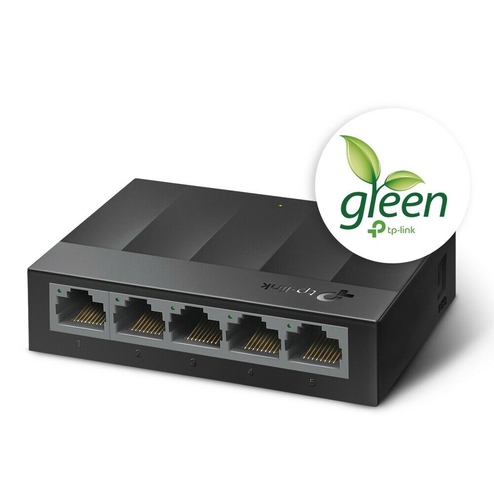 TP-Link LS1005G 5-Port Gigabit Ethernet 10/100/1000Mbps Desk