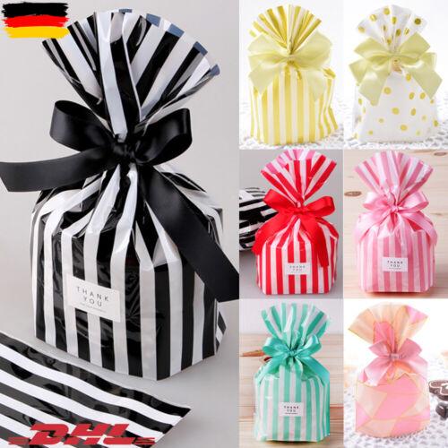 Papiertüten Kekse Party Geschenktaschen Geschenktüten Süßigkeiten Geschenkbeutel