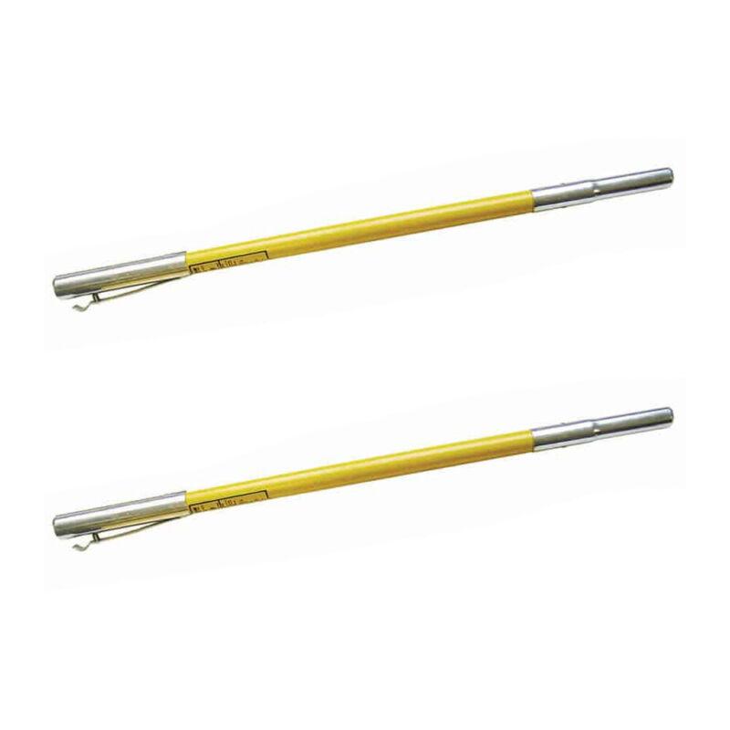 Jameson FG-6 Hollow Core 6 Foot Fiberglass Pole Saw Extension Poles (2 Pack)
