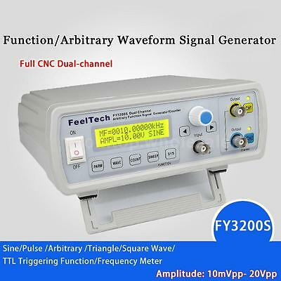 Fy3200s 20mhz Digital Dds 2-channel Arbitrary Function Signal Generator