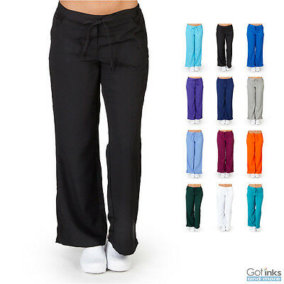 - Women's UltraSoft Drawstring Elastic Waist Scrub PANTS ONLY Nursing Uniform