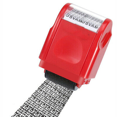 Confidential Ink Stamp - Identity Roller Stamp Theft Protect Confidential Secure Data ID Wide Ink Refill