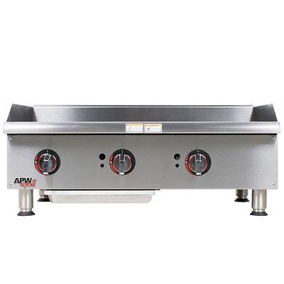 Apw Wyott Ggm-36i Champion 36 Countertop Gas Griddle - Manual 75000 Btu