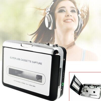 Practical USB Cassette Tape to MP3 iPod CD Converter Audio Music Player Flexible Cassette Tape To Mp3 Converter