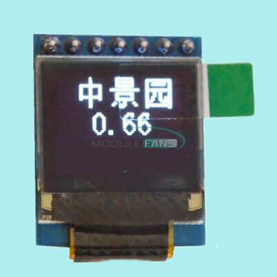 0.66 Oled Display Module 7pin 64x48 Screen Spi I2c 3.3-5v For Arduino Stm32 Avr